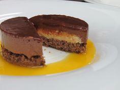 מוס שוקולד וקרם ברולה