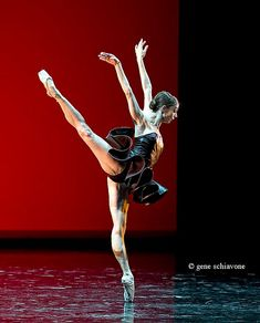 "Maria Kochetkova in ""Cinque"" from ""Reflections"".  Photo by Gene Schiavone"