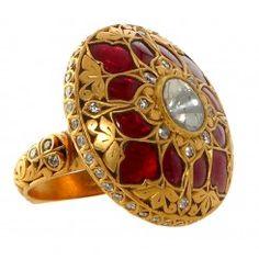 Jadau ring