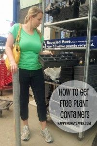 How To Get FREE Containers for Starting Plants Indoors - happymoneysaver.com
