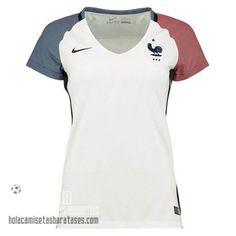 Camiseta Mujer Segunda Francia Euro 2016 €15.5