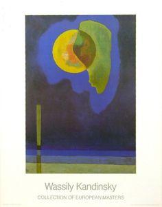 Gelber Kreis Print by Wassily Kandinsky at Art.com
