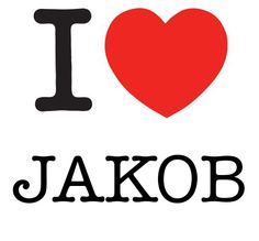 I Heart Jakob #love #heart