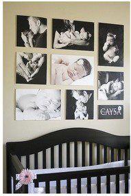 para adornar la pieza del bebé
