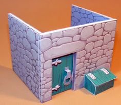 Paper Bible fold-ables that make little towns and people, nativity and easter are my favorite!