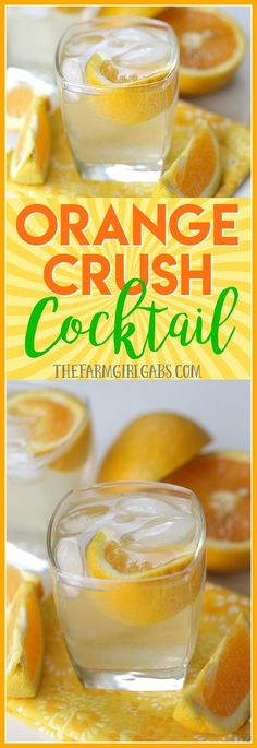 Summer needs a proper send off. This refreshing Orange Crush Cocktail recipe is the perfect way to toast long summer days and warm summer nights.