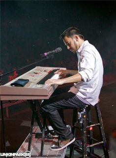 MIKE SHINODA I die a little with every note U play honey.