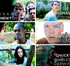 Thank you to whoever made this because I have been wondering who they were named after for so long! I figured out Newt, but that was it.