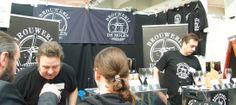 Brouwerij de Molen booth at german craft beer festival - Braukunst Live in Munich - good stuff!