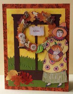 CC603 Pumpkin Lady