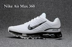 We Are Your Right Choice to get Main Nike Air Max 360 Running Shoes White Black For Men Online Store Air Max Sneakers, Sneakers N Stuff, Sneakers Mode, Sneakers Fashion, Green Sneakers, Shoes Sneakers, Retro Sneakers, Running Sneakers, Tumblr Outfits