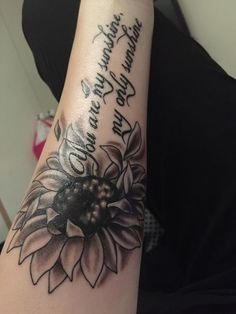 Image result for you are my sunshine tattoo