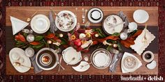 10 Styling Twists to Amp Up Your Holiday Tablescape   - HouseBeautiful.com