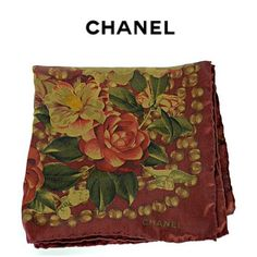 Pick up this Chanel scarf to add a pop of color to any outfit. Only at Flip! To purchase, call (615) 732-3547. We ship! Featured items: Chanel scarf $198 - #nashville #hip2flip #consignment #flipnashville #chanel