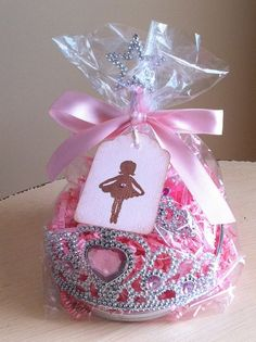 Ballerina Party favors
