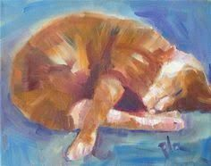Image result for oil paintings of cats prints