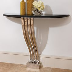 Graceful Console Table by Global Views
