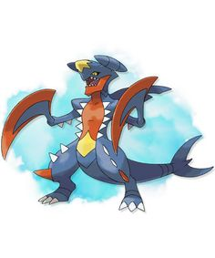 MEGA GARCHOMP. Type: DRAGON.GROUND. Ability: Sand Force. Mega Stone Location: Victory Road - Postgame.