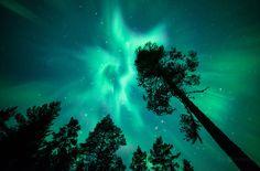 aurores boréales de Finlande par Joni Niemelä - http://www.2tout2rien.fr/aurores-boreales-de-finlande-par-joni-niemela/