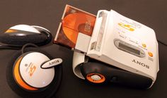 "https://flic.kr/p/8aEXnD | Sony MZ-S1 ""Sports"" S2 MiniDisc Walkman (2002) | very much an orange theme developing....."