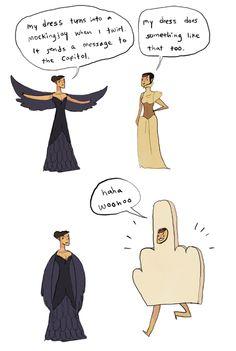 Hahaha!! Katniss Everdeen and Johanna Mason from Catching Fire (Parody)
