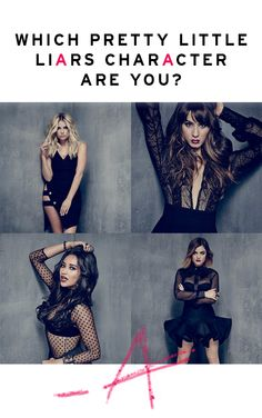 Which Pretty Little Liars Character Are You?  Are you sure you're a Hanna?