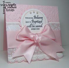 Believe Baptism Card