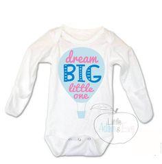 Dream Big Little One, Dream Big Onesies®, Dream Big Little One, Dream so Big, Baby Girl Onesie, Dream Big Little One, Cute Saying, adorable