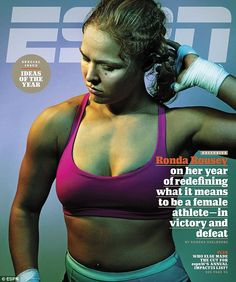 Down, but not out: Former UFC champion Ronda Rousey, 28, is speaking out for the first time about her stunning upset loss to Holly Holm in the new issue of ESPN magazine