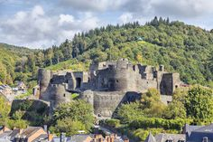 Photo of La Roche-en-Ardenne. See why you should visit the Ardennes in the south of Belgium to see Wallonia.