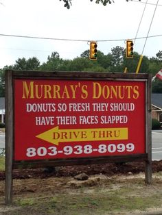 3. Murray's Donuts - 627 Bultman Dr, Sumter, SC 29150