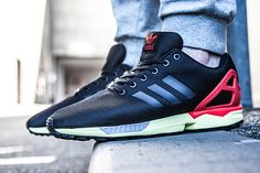 "adidas ZX Flux ""Black, Red & Yellow"""