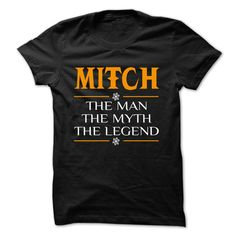 (New Tshirt Deals) The Legen MITCH 0399 Cool Name Shirt [Top Tshirt Facebook] Hoodies, Funny Tee Shirts