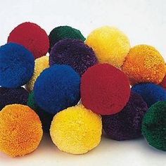 A stack of coloured fleece balls perfect for this exercise. Elementary School Counseling, School Social Work, School Counselor, Elementary Schools, Pe Activities, Counseling Activities, Activity Games, Counseling Psychology, Group Counseling