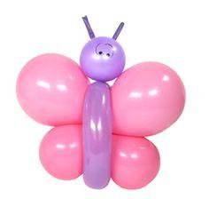 ver cmo hacer esta dulce mariposa con globos en a