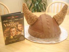 Dessert The Table: Viking Helmet cake