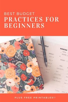 budgeting resource / best budgeting practices for the new budgeter / saving money like a pro