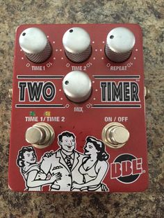 BBE Two Timer Analog Delay Guitar Effects Pedal in Musical Instruments & Gear, Guitars & Basses, Parts & Accessories | eBay
