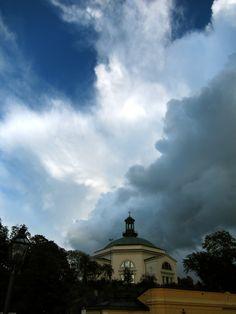Clouds over Stockholm. Photo: Vambola Raja