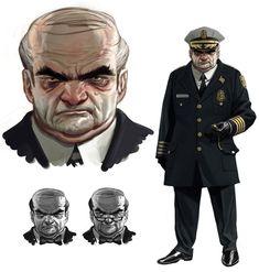 Commissioner Loeb - Characters & Art - Batman: Arkham Origins