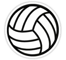 volleyball clipart awesome and free volleyball court central rh pinterest com volleyball clipart black and white volleyball clipart free images