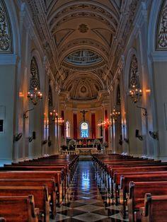 La Catedral de San Juan, Old San Juan, Puerto Rico by Fernando Cuevas