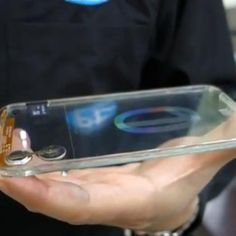 Polytron Technologies has released a prototype for what it hopes will be the world's first completely transparent smartphone.