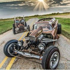 Afternoon Drive: Hot Rods & Rat Rods Photos) A hot rod is a specific type of automobile that has been modified to produce more power for racing straight ahead. The hot rod originated in the early. Rat Rod Trucks, Rat Rods, Rat Rod Cars, Old Trucks, Semi Trucks, Dually Trucks, Truck Drivers, Dodge Trucks, Diesel Trucks