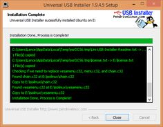 Universal USB Installer - Install various OSes from .iso images to USB. Support for many Linux distros, Windows, and more.