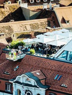 Rooftop Bar, Architecture, Restaurants, Beauty, Graz, Roof Terraces, Vacation Travel, Road Trip Destinations, Germany