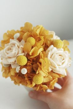 YELLOW Easter spring FLOWERS Natural dried Tansy flowers-Limonium-Flower arrangement-Rustic WEDDING Boho-Rustic Natural decoration-Craft