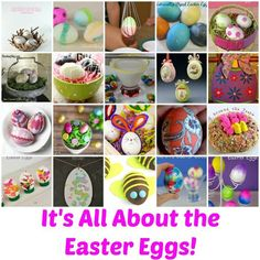 ways  to create Easter Eggs