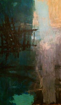 Kell Jarner, Acryl på lærred, 200 x 110 cm, 2014