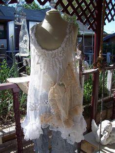 O Sweet Magnolia PearlHandmade Lagenlook by SWEETDREAMBOATANNIE, $169.00